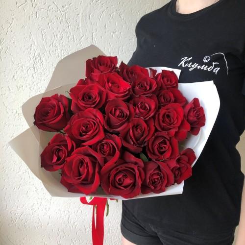 Букет из 21 розы с доставкой в Самаре