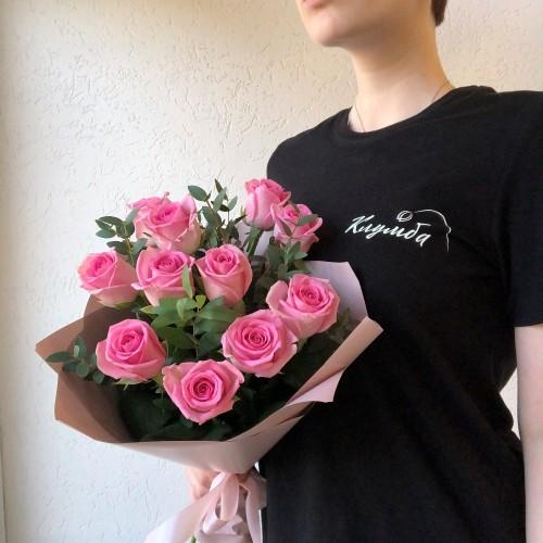 Букет Гламур роз с доставкой в Самаре