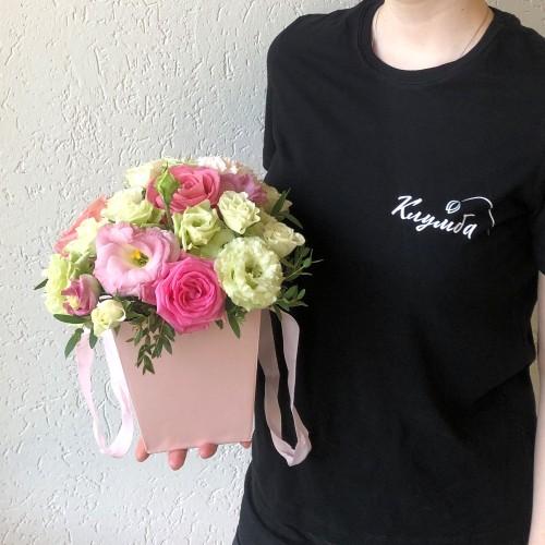Букет Розовый блик с доставкой в Самаре